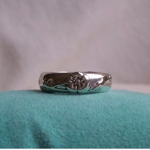 ***SOLD***Tiffany & Co Nature Collection Rose Ring
